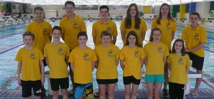 SSF-Schwimmer im Bundesstützpunkt vorbereitet
