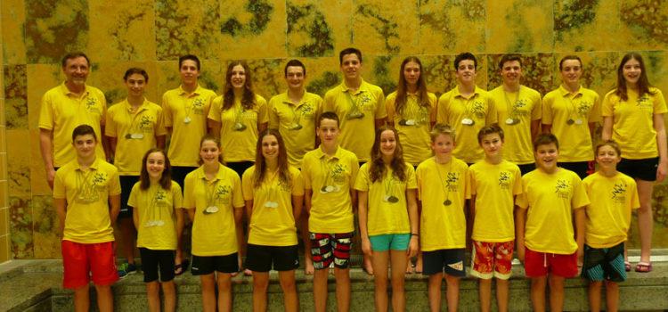 SSF Singen erschwimmen 77 Medaillen