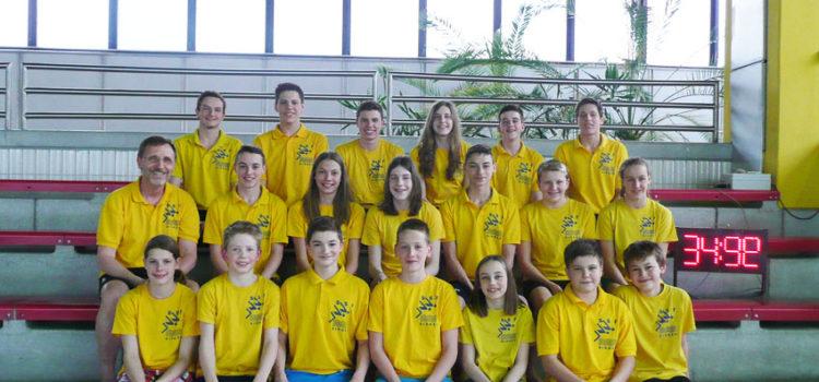SSF-Schwimmer in Ungarn im Trainingslager