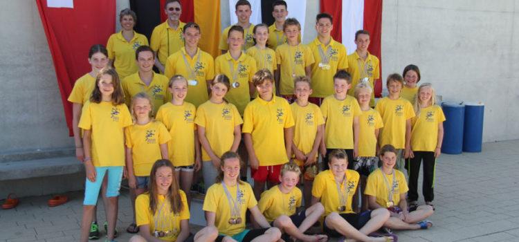 56 Medaillen bei Bodensee-Titelkämpfen