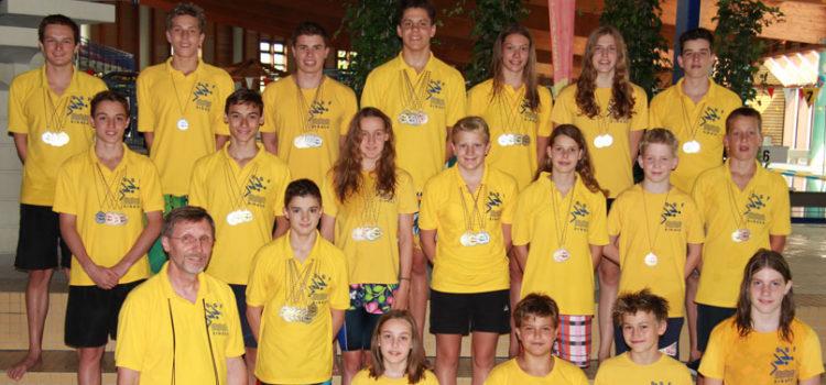 SSF Singen erschwimmen 57 Medaillen