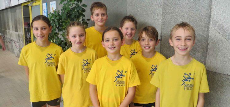 Jüngste der SSF Singen mit elf Medaillen