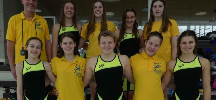 Singener Schwimmerinnen in der Oberliga BaWü