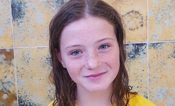 Naomie Schieß beim Süddeutschen-Jugend-Ländervergleich