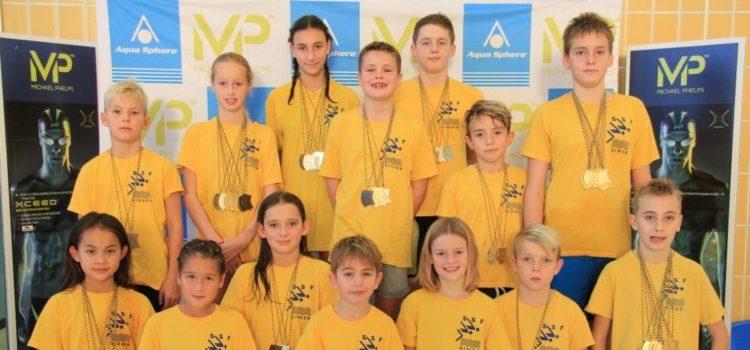 Nachwuchsschwimmer der SSF-Singen in toller Form