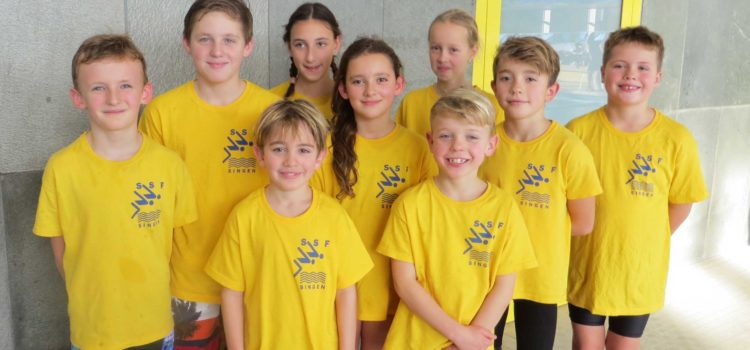 34 Medaillen für Singener Nachwuchsschwimmer