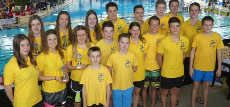 SSF Singen mit Medaillen- und Pokalflut